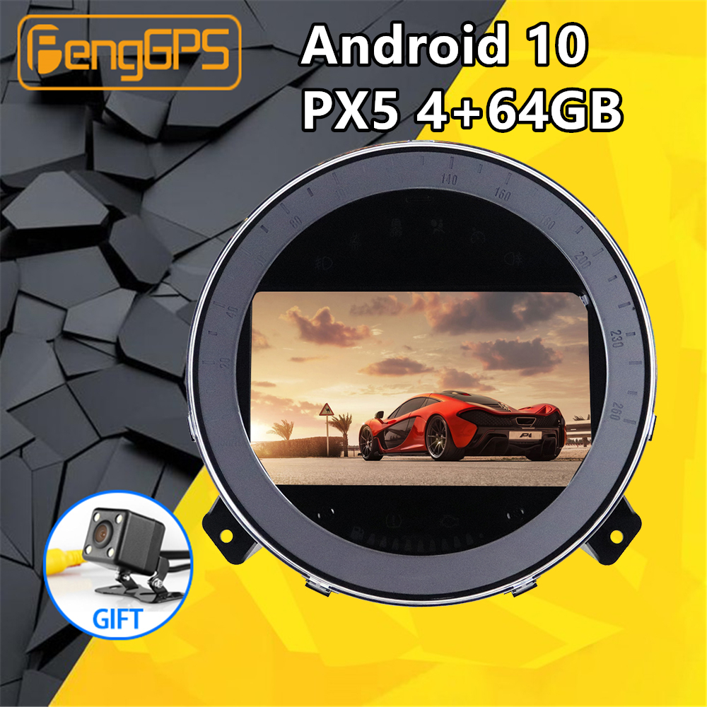 Car Multimedia Player For MINI Cooper 2006-2014 Android 10 IPS Screen Audio Radio Stereo PX5 Autoradio GPS Navigation Head Unit