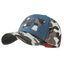 Baby Baseball Cap For Children Letter Boy Camouflage Hip Hop Cap Summer Sun Hat Boys