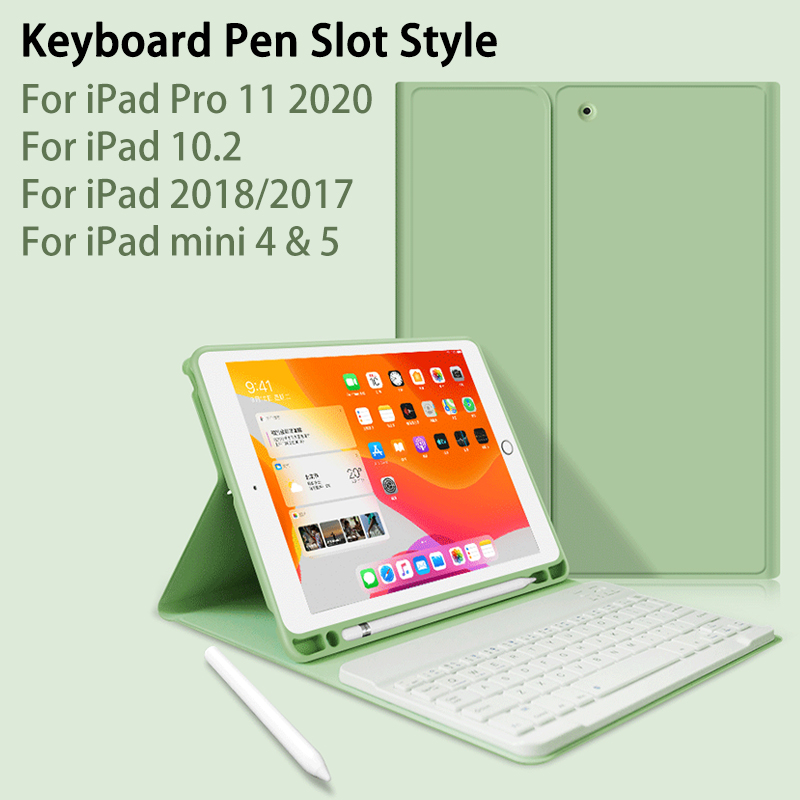 For Ipad 10.2 Case With Keyboard For Ipad 7th Generation Case / 9.7 2018 / Air 2 1 / Mini 4 Mini 5 / For IPad Pro 11 2020 Case