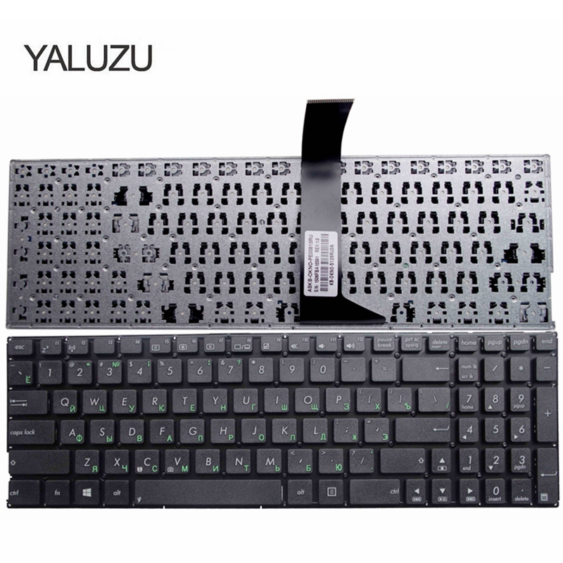 New Russian Laptop Keyboard For Asus F552 F552C F552CL F552E F552EA F552EP F552LA F552LAV F552LD R510V RU Black