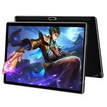 Tableta de cristal 2.5D de 10 pulgadas, tarjeta SIM de pantalla IPS, tienda de juegos Dual, Netflix, Navagation, más de 10 2020, regalos, novedad de 10,1