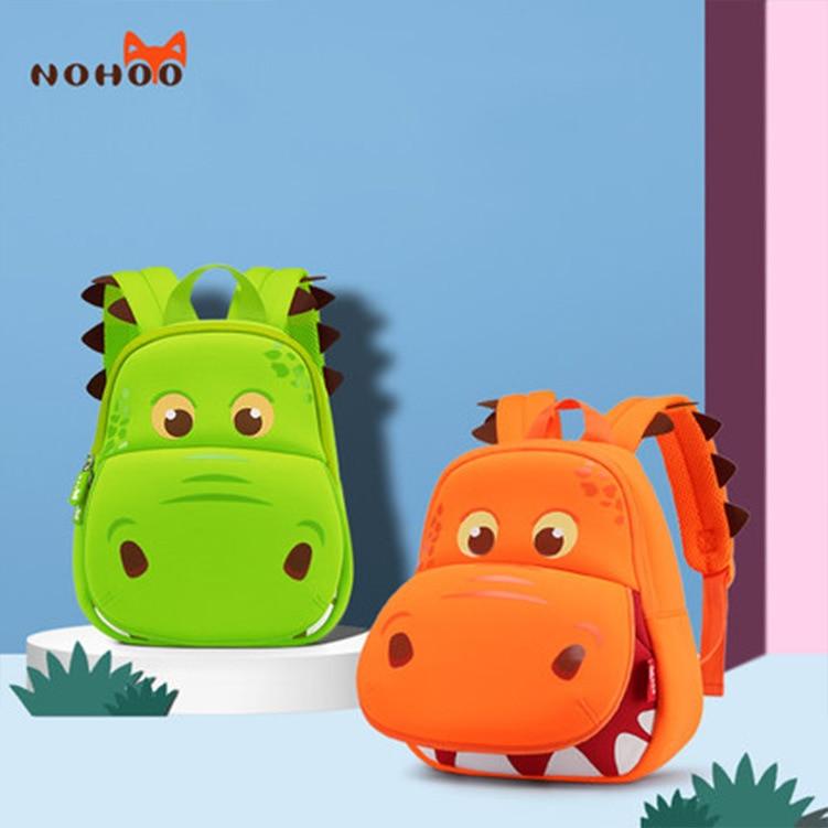 NOHOO CHILDREN'S School Bags Kindergarten 1-3-5-Year-Old Backpack Men And Women Children Korean-style Baby Backpack Fashion Noho