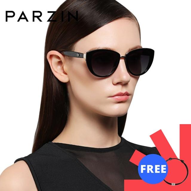 Parzinファッションエレガントな女性のサングラススタイルの高品質ブランドデザイナーUV400サングラス女性偏光ホット販売