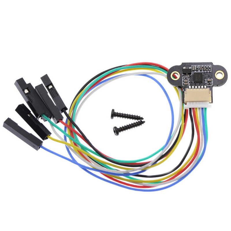 Katigan Range Sensor Module 10-180Cm Distance Sensor Tof10120 Distance Sensor Uart I2C Output 3-5V Rs232 Interface for Tof05140