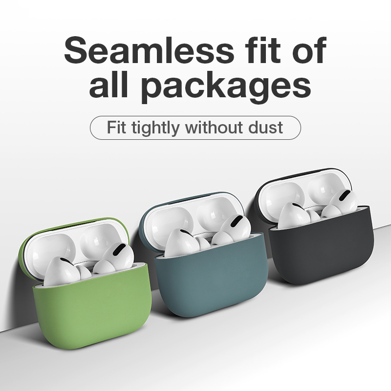 Silicone Case For Airpods Pro, Cute Headphones Cases For Air Pod 3, Protective Cover For Wireless Bluetooth Earphone TWS Earbuds