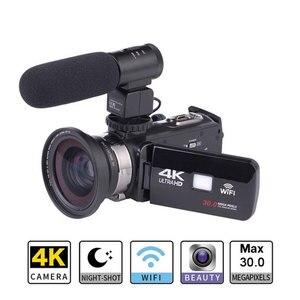 Image 2 - Full Hd 4K Video Wifi Della Macchina Fotografica Portatile Dv Professionale Visione Notturna Anti Shake Fotocamera Digitale Videocamera Flusso stabilizzatore