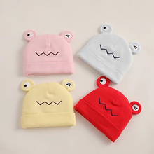 Baby Cartoon Cute Hat Autumn And Winter Warm Hats For Baby Solid Thicken Caps Newborn Baby Boys Girls Cap 0-3 Months 2019 winter baby hats cartoon cotton sweet baby hat for girls boys newborn baby little yellow duck cap girls baby accessories