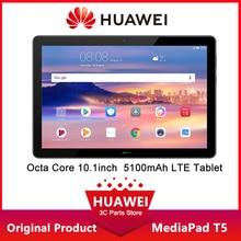 HUAWEI MediaPad T5 оперативная память 2 Гб ROM 16 Гб планшетный ПК 10,1 дюймов Octa Core двойной динамик 5100 мАч Android 8,0 1920x1200 tabletas