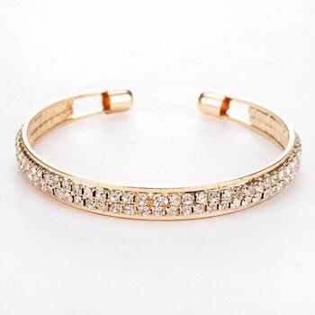 Elegant Crystal Cuff  Bracelets & Bangles 4