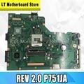 P751JA материнская плата для For Asus P751 P751J P751JA P751JF Материнская плата ноутбука REV 2 0 100% протестирована