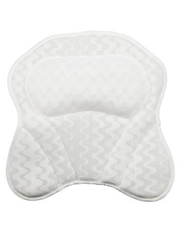 3d malha home spa banheira travesseiro nao slip