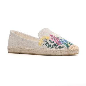 Image 5 - Tienda Soludos נעלי נשים שטוחות אופנה נוח נשים מזדמן 2019 אמיתי מיהר קנבוס Zapatillas Mujer Sapatos