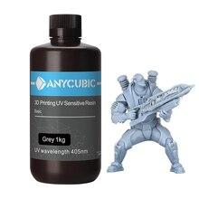 ANYCUBIC stampante 3D materiale di stampa 405nm resina UV per Photon photon s resina UV sensibile LCD 1KG bottiglia liquida impressora 3d
