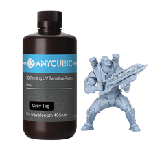 Anycubic 3Dプリンタ印刷材料405nm uv樹脂フォトン光子 sの液晶敏感uv樹脂1キロ液体ボトルimpressora 3d