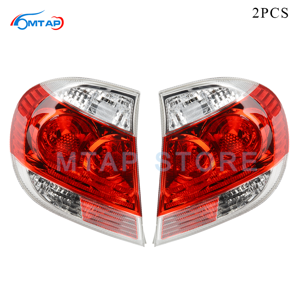MTAP Pair Tail Light Tail Lamp Brake Lamp For Toyota CAMRY 2005 2006 2.4L ACV3# MCV30 Rear Bumper Taillight Taillamp