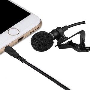 Image 3 - 1.5m omnidirecional microfone condensador para gravador para iphone 6s 7 ppus xiaomi almofada do telefone móvel dlsr câmera