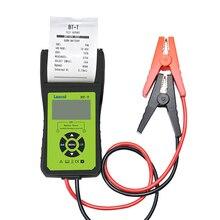 Ferramenta diagnóstica da bateria do automóvel de lancol BT T 12v para o verificador da bateria de digitas com impressora para o resultado rápido e simples do teste da cópia