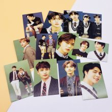 KPOP NCT127 Mini camion étoiles Photos carte aléatoire Polaroid Lee Mark Taeyong dix Taeil nouveau périphérique célébrité inspiré(China)