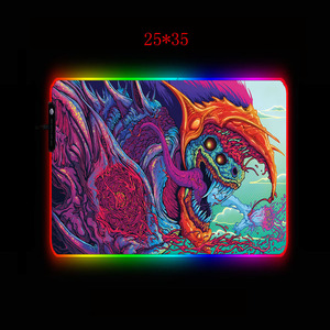 Image 4 - XGZBig كبير الألعاب RGB ماوس XL ألعاب حصيرة ماوس الوسادة ل Cs الذهاب فرط الوحش جهاز كمبيوتر شخصي Led الخلفية XXL لوحة المفاتيح حصيرة مكتبية