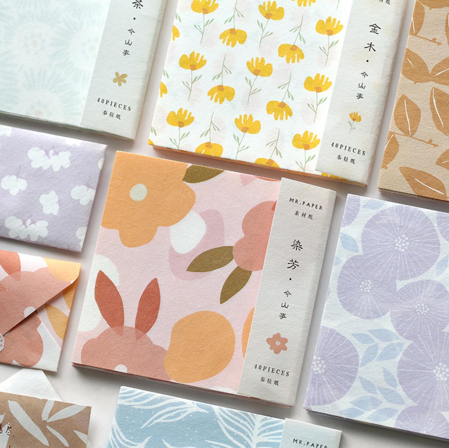 TUNACOCO 40 Sheets Japan Style SAKURA Kawaii Cute Mano Pad Sticky Note For Child Student Office Suplies Diary Bz1710144