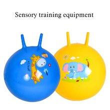 Crianças espaço hopper saltando bolas garra a bola brinquedos educativos esportes ao ar livre jardim de infância jogos de salto bola randomcolor