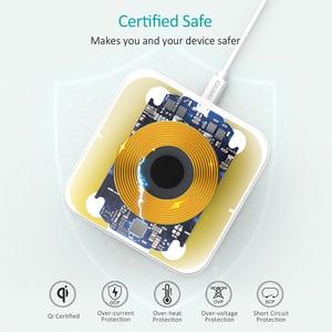 Image 5 - CHOETECH Wireless Pad Caricabatterie Per Il Samsung S10 S9 S8 Nota 10 9 10W Veloce Wireless Pad di Ricarica per iPhone 11 Xs Max Xr X 8 8 Più