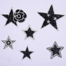 Zotone звезда патч для одежды джинсы железные Стразы наклейки