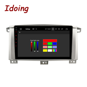 """Image 4 - Idoing 9""""/10.2 inch Octa Core Car Android 9.0 Radio Multimedia Player For Toyota Land Cruiser LC 100 2002 2007 GPS Navigation"""