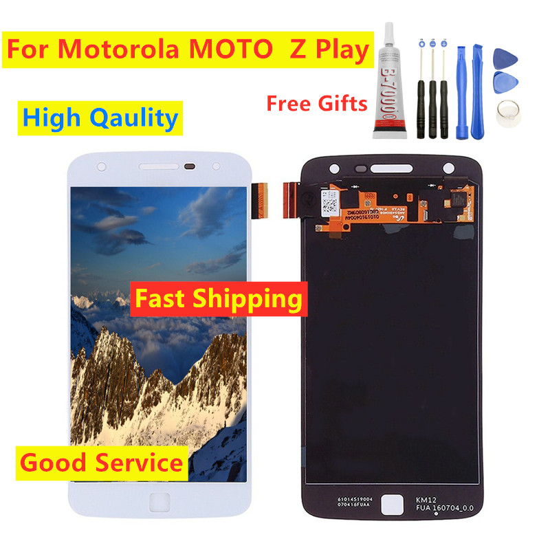 100% Tested For Motorola moto Z Play Lcd <font><b>Screen</b></font> Display For moto Z Play <font><b>XT1635</b></font>-01 <font><b>XT1635</b></font>-02 <font><b>XT1635</b></font>-03 <font><b>Screen</b></font> Digitizer Assembly image