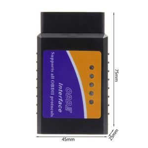Image 5 - ELM327 V1.5 Bluetooth wsparcie Android 16pin Obd2 skaner samochodowy narzędzie diagnostyczne do samochodów