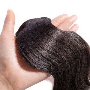 Image 5 - Mèches Body Wave brésiliennes naturelles non remy sur trame, mme Lula, Extension de cheveux naturels, 1/3/4, 30/32/34/36/38/40 pouces, livraison gratuite