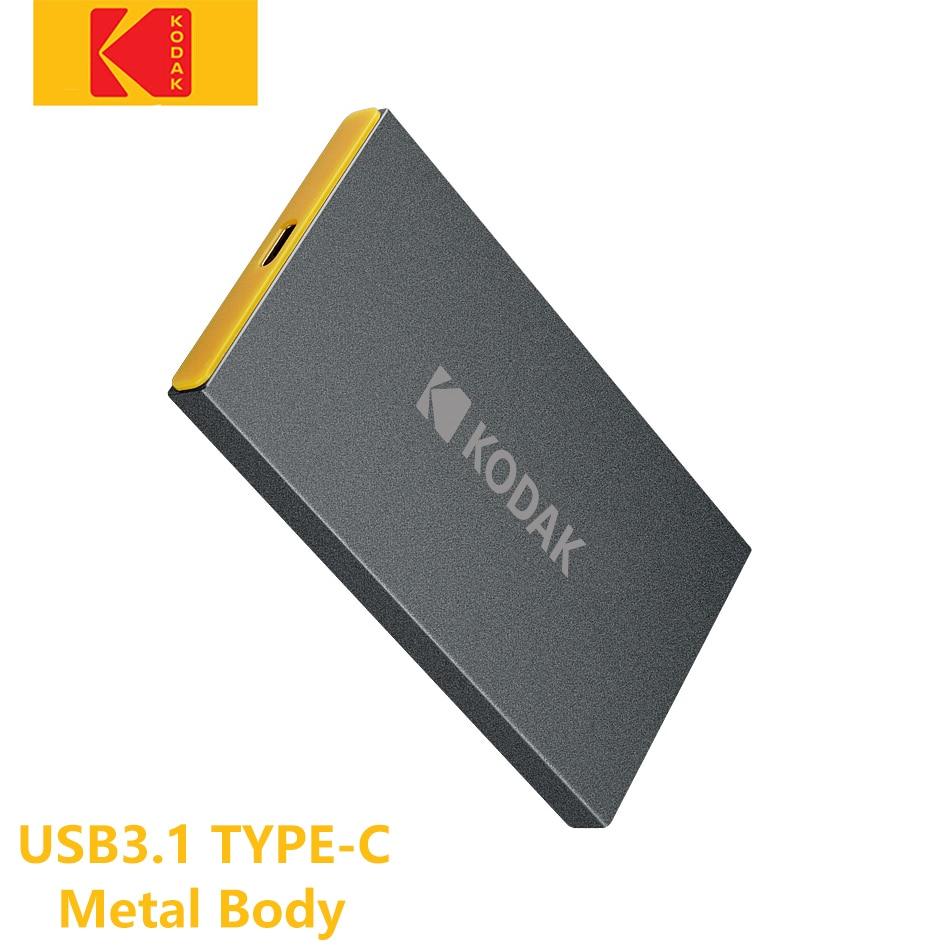 Kodak X250 USB3.1 External Solid State Drive metal matte portable ssd Gen 2  hard drive 960GB 480GB 240GB 120GB for xbox ps4 pc