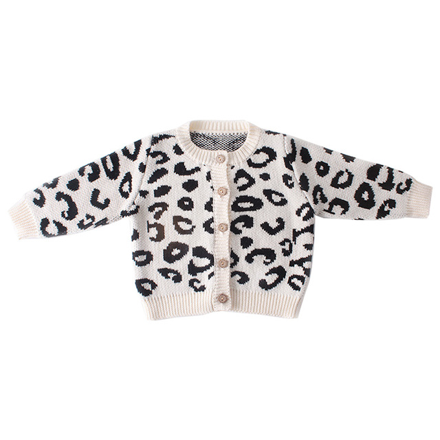 Winter Baby Clothes Leopard...