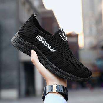 AODLEE męskie buty wulkanizowane Slip on męskie buty Casual wiosenna siatkowe trampki męskie buty górskie męskie męskie buty sportowe Dropshipping tanie i dobre opinie Syntetyczny Fabric Totem Stałe Dla dorosłych Płótno Wiosna jesień Mens Vulcanized Shoes Sneakers Women Slip-on Mieszkanie (≤1cm)