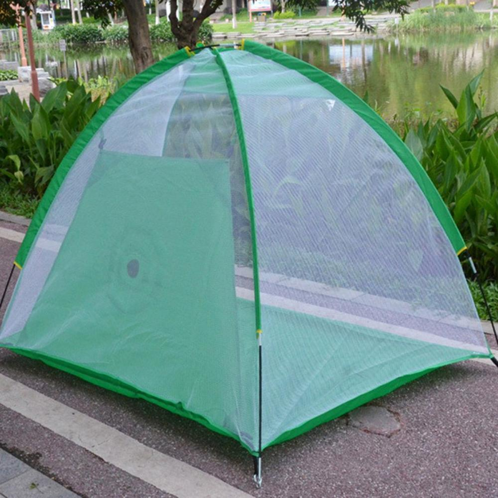 Купить с кэшбэком Indoor/Outdoor Golf Training Aids Portable Foldable Golf Hitting Cage Garden Grassland Golf Practice Net