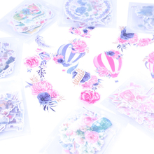 30packs/lot Cute Diary Japanese Style My Flower World Sticker Eight Selections Stationery School Supplies Decoracion Stickers