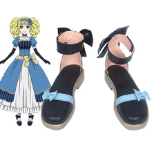 Kuroshitsuji Black Butler Book of the Atlantic Elizabeth Cosplay Shoes Halloween Party Lolita w/Bowknot Women Anime