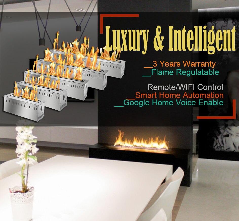 Hot Sale 18 Inches Wifi Control Bio Fuel Fire Eco Fireplace Intelligent Burner