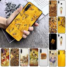 FHNBLJ Bumble Bee Honeycomb Telefon Fall Telefon Fall Für Xiaomi mi9 mi8 F1 9SE 10lite note10lite Mi8lite Zurück Coque xiaomimi5x