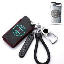 Лидер продаж кожаный автомобильный чехол, держатель для ключа для Защитные чехлы для сидений, сшитые специально для Chery Tiggo 8 Arrizo 5 pro gx усилит...