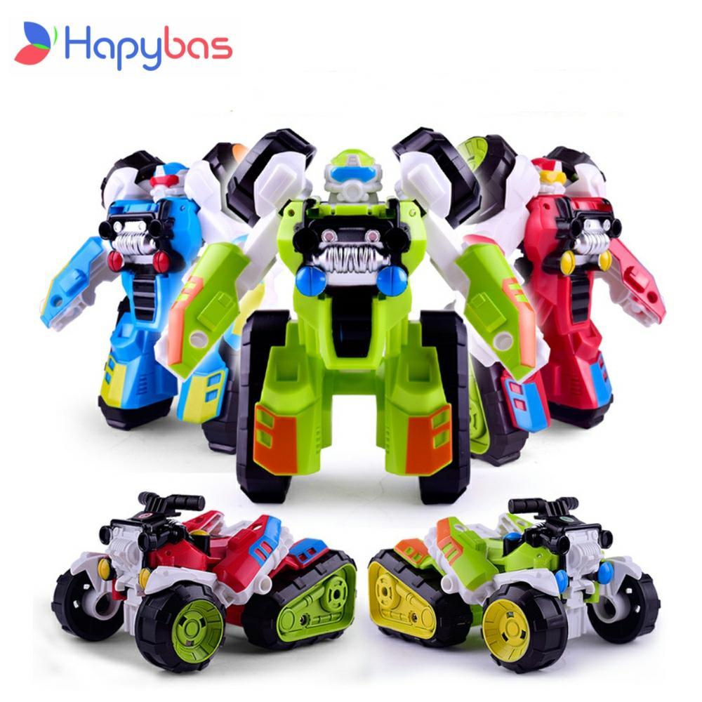 Transformasi Robot Pantai Sepeda Motor Mobil Kit Kartun Lucu Deformasi Robot Action Figure Toy Untuk Anak Laki Laki Model Kendaraan Anak Anak Hadiah Aksi Figur Aliexpress