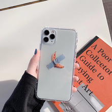 New simple fashion funny retro pattern banana phone case for