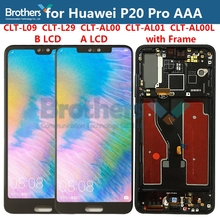 LCD תצוגה עבור Huawei P20 Pro LCD מסך עבור P20 פרו CLT L09 CLT L29 CLT AL00 CLT AL01 LCD עצרת מסך מגע Digitizer מבחן