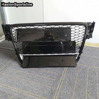 A5 Q Style Front Honeycomb Mesh Front Grill Grille For Audi A5 S5 RS5 Sline 2007 2011