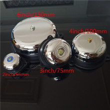 Tradition electric bell 2/3/4/6 inch 12V 24V 36V 48V 110V 220V 380V  High DB Alarm Bell Quality Door School Factory