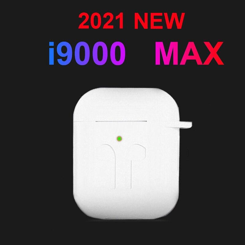 2021 nova i9000 max tws sem fio bluetooth 5.0 fone de ouvido sem fio fones para iphone xiaomi pk i5000 i9000 tws i90000 pro