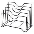 Органайзер для хранения крышек кастрюль  стойка для хранения крышек кастрюль  крышка для кастрюль  держатель для шкафа  органайзер для мног...