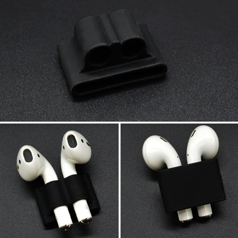 Soft Silicone Earphone Accessories Stand For AirPods Pro Wireless Bluetooth Headset For AirPods 1 2 Band Watch Stand Holder