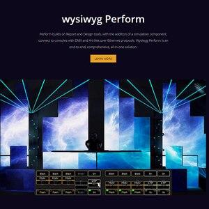 Image 2 - WYSIWYG R40 동글 영어 출시 40 R40 개 프리폼 암호화 된 개 조명 무대 극장 성능 장소 디자인 소프트웨어