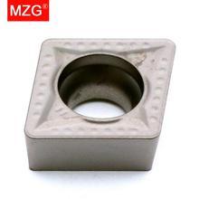 MZG سعر الخصم CCMT09T308 MT ZN60 تحول مملة قطع التصنيع باستخدام الحاسب الآلي كربيد سيرميت إدراج لتجهيز الصلب SCLC أدوات
